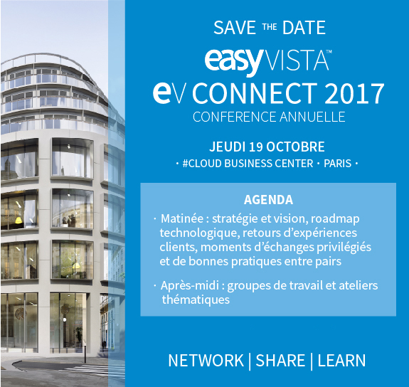 EV CONNECT Easyvista Paris