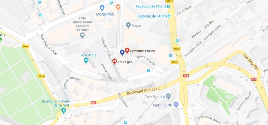 Maps Symantec
