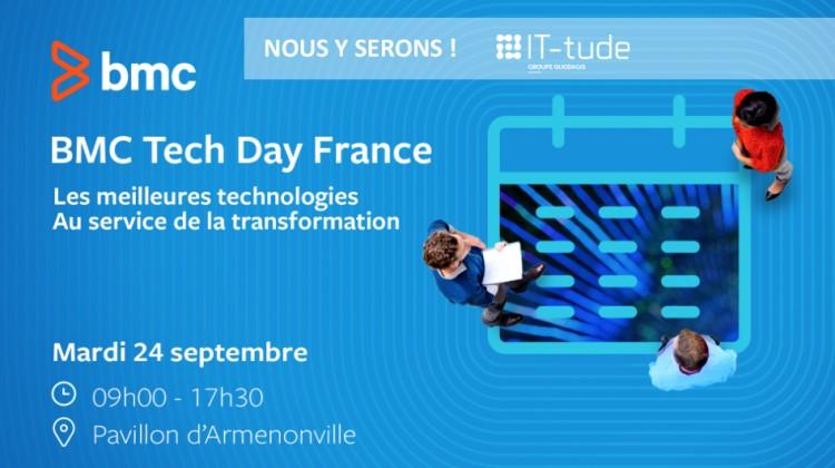 BMC Tech Day IT-tude sponsor Silver