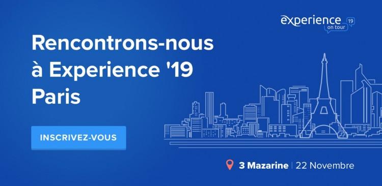 Experience'19 Paris 22 Novembre